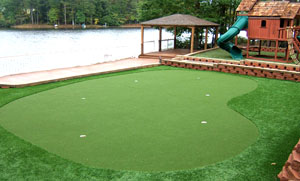 Artificial Backyard Golf Putting Greens · Practice Golf Putting Greens