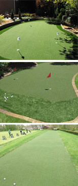 Practice Synthetic Backyard Golf Putting Greens | Artificial Practice Golf  Putting Greens